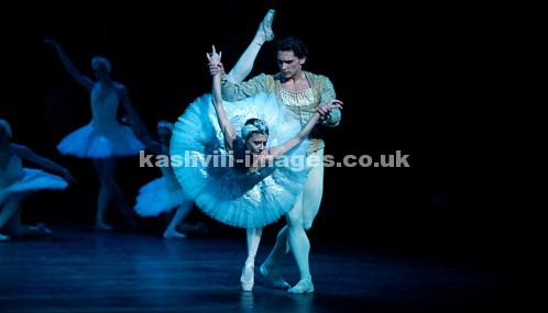 Appearing with English National Ballet, London Coliseum, January 2015