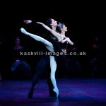 Appearing with English National Ballet, London Coliseum. January 2015